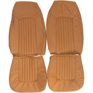 1971-1980 Ford Pinto Custom Real Leather Seat Covers (Front)