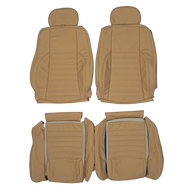 1989-1994 Jaguar XJS Custom Real Leather Seat Covers (Front)