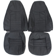 1993-1996 Chevrolet Camaro Custom Real Leather Seat Covers (Front)