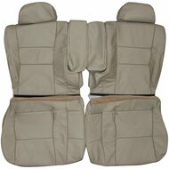 1995-1997 Lexus LX450 Custom Real Leather Seat Covers (Rear)