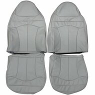 1999-2001 Ford F150 Lariat Custom Real Leather Seat Covers (Front)