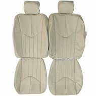 2000-2002 Jaguar S-type Custom Real Leather Seat Covers (Front)