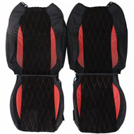 2010-2014 Honda CR-Z Custom Real Leather Seat Covers (Front)
