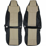 2003-2006 Jeep TJ Custom Real Leather Seat Covers (Front)