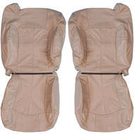2000-2006 Chevrolet Suburban Custom Real Leather Seat Covers (Front)