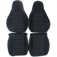 1976-1984 Porsche 924 Custom Real Leather Seat Covers (Front)