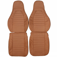 1976-1984 Porsche 911 Carrera Custom Real Leather Seat Covers (Front)