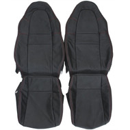 2000-2002 Toyota MR-S Spyder Custom Real Leather Seat Covers (Front)