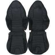 1998-2002 BMW Z3 M Roadster Custom Real Leather Seat Covers (Front)