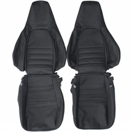1986-1991 Porsche 944 Custom Real Leather Seat Covers (Front)