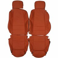 1998-2004 BMW E46 Convertible Sport Custom Real Leather Seat Covers (Front)