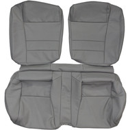 1986-1992 Toyota Supra A70 Custom Real Leather Seat Covers (Rear)