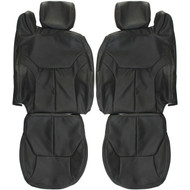 1996-2000 Chrysler Sebring Convertible Custom Real Leather Seat Covers (Front)