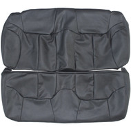 1996-2000 Chrysler Sebring Convertible Custom Real Leather Seat Covers (Rear)