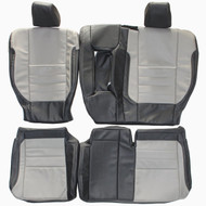 2012-2016 Ford Escape Custom Real Leather Seat Covers (Rear)