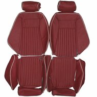 1980 Avanti II Recaro Custom Real Leather Seat Covers (Front)