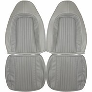 1970-1974 Dodge Challenger Custom Real Leather Seat Covers (Front)