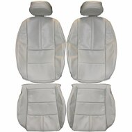 2014-2017 Chevrolet Impala Custom Real Leather Seat Covers (Front)