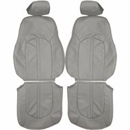 2008-2014 Cadillac CTS Custom Real Leather Seat Covers (Front)