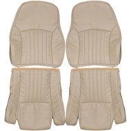 1985-1992 Pontiac Trans Am GTA Custom Real Leather Seat Covers (Front)