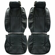 2006-2013 Chevrolet Impala Custom Real Leather Seat Covers (Front)