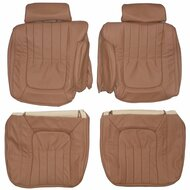 1976-1979 Cadillac Seville Custom Real Leather Seat Covers (Front)