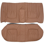 1976-1979 Cadillac Seville Custom Real Leather Seat Covers (Rear)