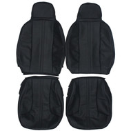 1981-1983 DeLorean DMC-12 Custom Real Leather Seat Covers (Front)