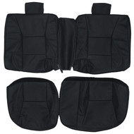 1998-2002 Saab 9-3 Custom Real Leather Seat Covers (Rear)