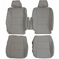 1998-2007 Toyota Land Cruiser J100 Custom Real Leather Seat Covers (Front)