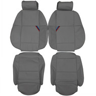 1992-1998 BMW E36 M3 Sport Custom Real Leather Seat Covers (Front)