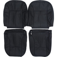 2004-2012 GMC Canyon Crew Cab Custom Real Leather Seat Covers (Front)