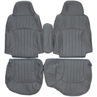 1998-2004 Chevrolet S10 Blazer 60/40 Custom Real Leather Seat Covers (Front)