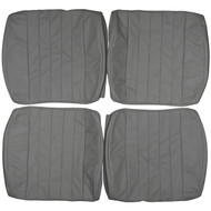 1965-1973 Porsche 911 912 Custom Real Leather Seat Covers (Front)