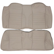 1989-1994 Jaguar XJS Custom Real Leather Seat Covers (Rear)