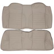 1989-1994 Jaguar XJS Custom Real Leather Seat Covers (Rear)