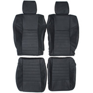 2010-2014 Dodge Challenger Custom Real Leather Seat Covers (Front)