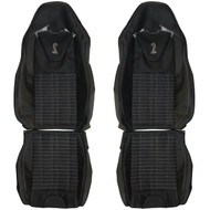 2010-2014 Ford Shelby Cobra GT500 Custom Real Leather Seat Covers (Front)