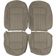 1995-1997 Jaguar XJ6 Custom Real Leather Seat Covers (Front)