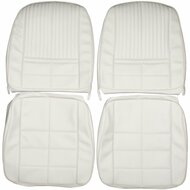 1966 Ford Thunderbird T-Bird Custom Real Leather Seat Covers (Front)