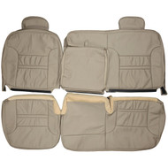 1999-2005 Ford Excursion Custom Real Leather Seat Covers (Rear)