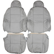 1999-2006 Volvo S80 T6 Custom Real Leather Seat Covers (Front)