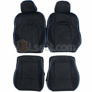 2001-2008 Hyundai Tiburon Custom Real Leather Seat Covers (Front)