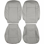 2003-2011 Saab 9-3 Custom Real Leather Seat Covers (Front)