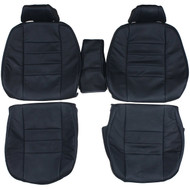 1986-1988 Mercedes Benz C126 Coupe 380SEC 560SEC Custom Real Leather Seat Covers (Front)