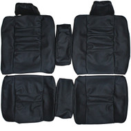 1986-1988 Mercedes Benz C126 Coupe 380SEC 560SEC Custom Real Leather Seat Covers (Rear)