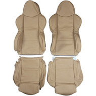 2004-2008 BMW Z4 Sport E85 Custom Real Leather Seat Covers (Front)