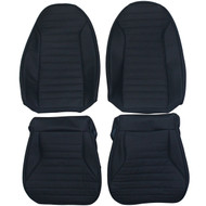 1971-1975 Pontiac Firebird Trans Am Custom Real Leather Seat Covers (Front)