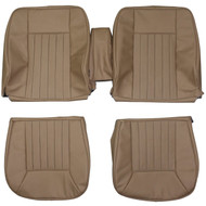 1986-1989 Mercedes Benz W124 300CE Custom Real Leather Seat Covers (Front)