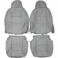 2001-2007 Volvo V70 Custom Real Leather Seat Covers (Front)